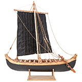 Scale Model of Magan Boat