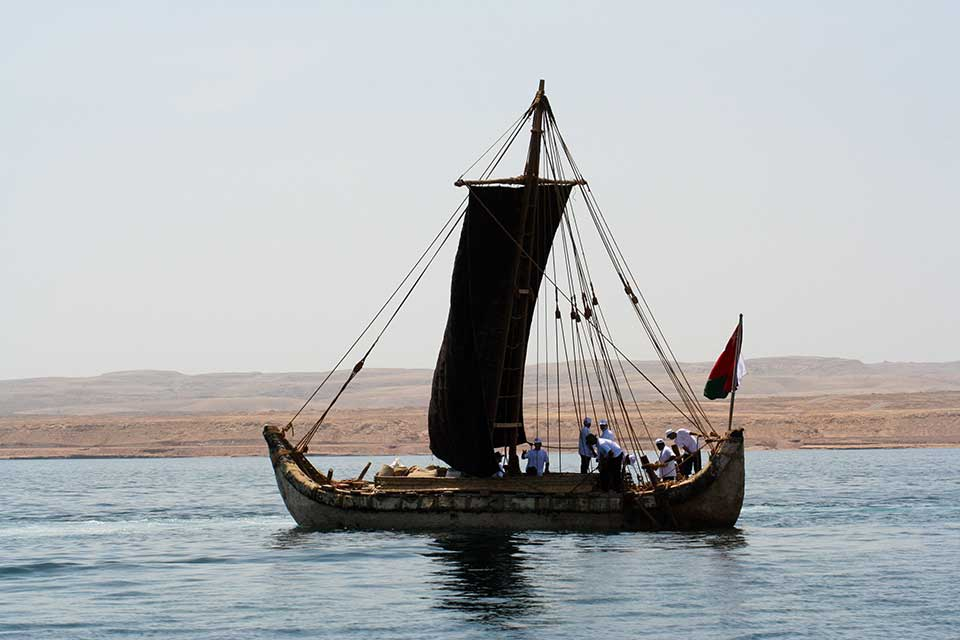 The Magan boat – an Omani reconstruction of a bronze age reed boat