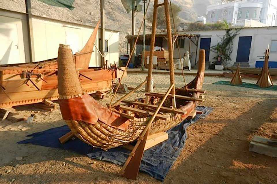 Boats like these opened up trade routes as early as 2500 BC