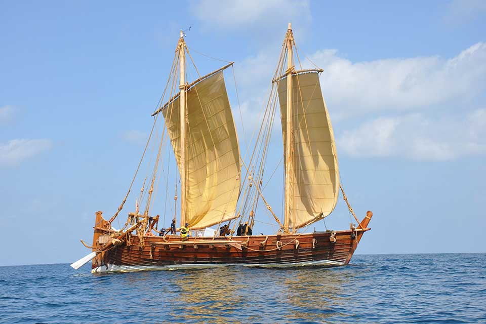 Jewel of Muscat - a reconstruction of a 9th century trading boat