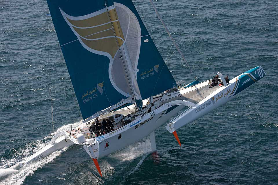 Oman Sail crews compete in some of the toughest international competitions